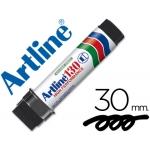 Rotulador Artline postermarker color negro recargable 30 mm