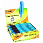 Rotulador Bic brite liner text fluorescente color azul punta biselada 3-5 mm