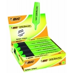 Rotulador Bic brite liner text fluorescente color verde punta biselada 3-5 mm