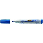 Bic Velleda NB1751-06C - Rotulador para pizarra blanca, punta biselada, color azul