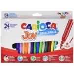 Rotulador Carioca joy caja de 24 colores