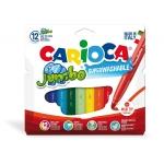 Rotulador Carioca jumbo 2 colores punta gruesa