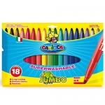 Rotulador Carioca jumbo caja de 18 colores punta gruesa