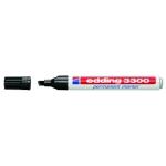 Rotulador Edding marcador 3300 Nº 1 color negro punta biselada