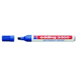 Rotulador Edding marcador 3300 Nº 3 color azul punta biselada