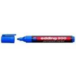 Rotulador Edding marcador permanente 300 color azul punta redonda 1,5-3 mm