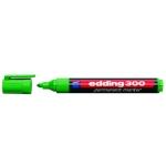 Rotulador Edding marcador permanente 300 color verde punta redonda 1,5-3 mm