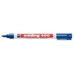 Edding 400 - Rotulador permanente, punta redonda 1 mm, color azul