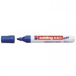 Edding 660 - Rotulador para pizarra blanca, punta redonda de 1,5-3 mm, color azul