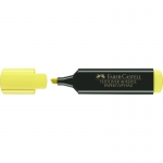Faber-Castell TextLiner 48-07 - Rotulador fluorescente, punta biselada, color amarillo