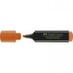 Faber-Castell Textliner 48-15 - Rotulador fluorescente, punta biselada, color naranja