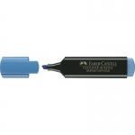 Faber-Castell Textliner 48-51 - Rotulador fluorescente, punta biselada, color azul