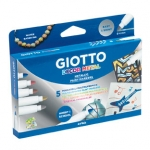 Rotulador Giotto decor metal caja de 5 rotuladores