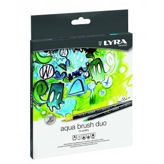 Lyra Hi-Quality Art Pen 6751100 - Rotuladores de colores, caja metálica de 10 colores