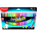 Rotulador Maped color peps 845022 caja de 24 unid