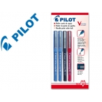 Rotulador Pilot punta aguja color SURTIDO 0.5 mm blister