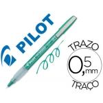 Rotulador Pilot punta aguja color verde tinta liquida