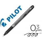 Rotulador Pilot punta aguja grip color negro 0.5 mm