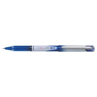 Pilot V-Ball Grip 0.5 - Bolígrafo de tinta líquida, punta redonda de 0,5 mm, con grip, color azul
