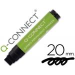 Rotulador Q-Connect postermarker color negro punta de fieltro 10-20 mm