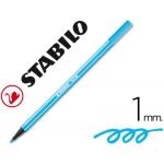 Rotulador Stabilo acuarelable pen 68 color azul celeste 1 mm