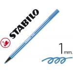 Stabilo Pen 68/41 - Rotulador acuarelable, punta redonda de 1 mm, color azul oscuro
