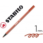 Rotulador Stabilo acuarelable pen 68 color rojo carmin 1 mm