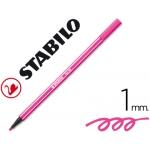 Rotulador Stabilo acuarelable pen 68 color rosa 1 mm