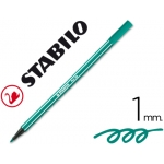 Rotulador Stabilo acuarelable pen 68 color verde esmeralda 1 mm