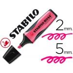 Rotulador Stabilo boss executive fluorescente color rosa