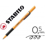Rotulador Stabilo roller visco color negro 0,5