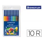Staedtler Noris Club 326 - Rotuladores de colores, caja de 10 colores