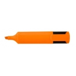 Rotulador fluorescente color naranja punta biselada Greening