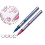 Rotulador marcador Pentel msp60 outline permanente boble color colores surtidos