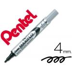 Rotulador maxiflo Pentel para pizarra blanca color negro