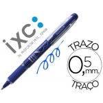 Rotulador roller Inoxcrom free ink campus azul