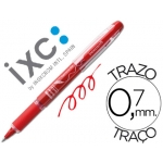 Rotulador roller Inoxcrom free ink campus rojo 0,7 mm