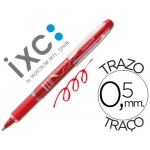 Rotulador roller Inoxcrom free ink campus rojo