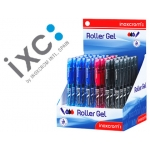 Rotulador roller Inoxcrom long gel office campus colores surtidos 0,6 mm