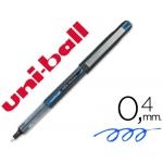 Rotulador uni-ball color azul punta de aguja tinta liquida