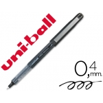 Rotulador uni-ball color negro punta de aguja tinta liquida