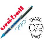 Rotulador uni-ball roller color azul claro 0,7 mm