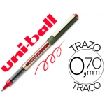 Rotulador uni-ball roller color rojo 0,7 mm