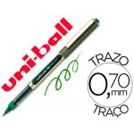 Rotulador uni-ball roller color verde 0,7 mm