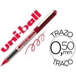 Rotulador uni-ball roller micro eye color rojo 0,5 mm