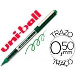 Rotulador uni-ball roller micro eye color verde 0,5 mm