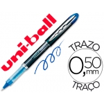 Rotulador uni-ball roller vision color azul 0,5 mm