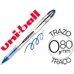 Rotulador uni-ball roller vision color azul 0,8 mm