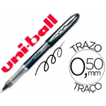 Rotulador uni-ball roller vision color negro 0,5 mm