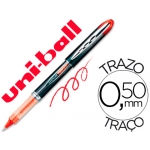 Rotulador uni-ball roller vision color rojo 0,5 mm